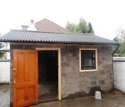 Old garage renovation and conversion
