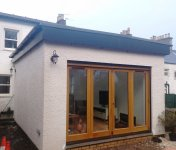 A single storey house extension