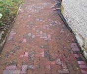 paving footpath around the house