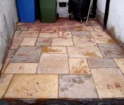 patio tiling