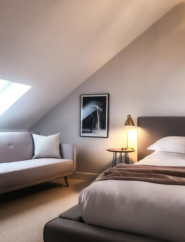 loft conversion into bedroom